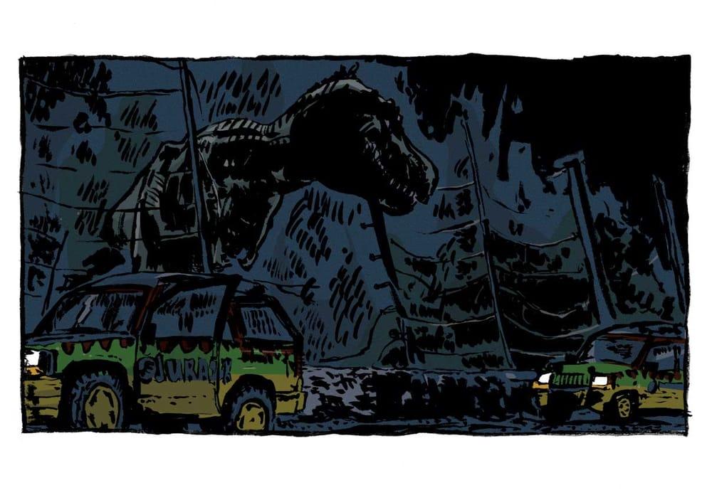 Jurassic Panel - image 1 - student project