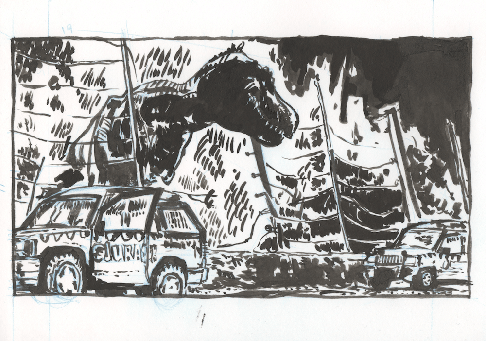 Jurassic Panel - image 3 - student project