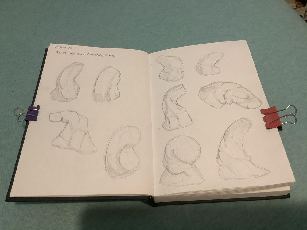 Stretch, squash and Twist - image 1 - student project