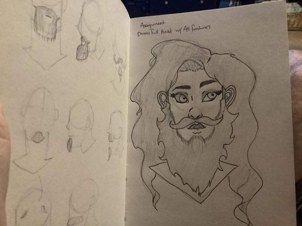 Bearded Lady - image 1 - student project