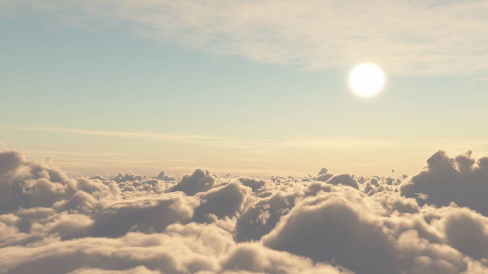Sunset above the clouds - image 3 - student project