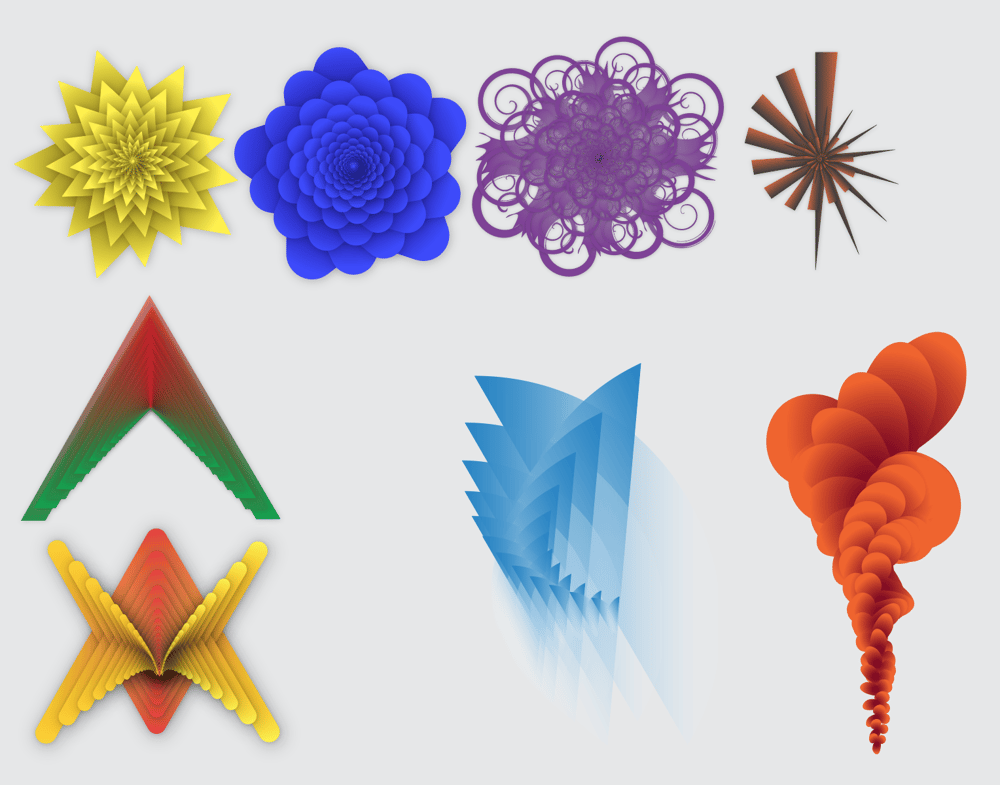 Repeating Shapes - image 1 - student project