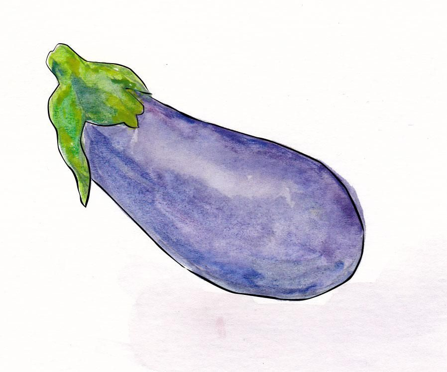 My Inky Aubergine - image 1 - student project