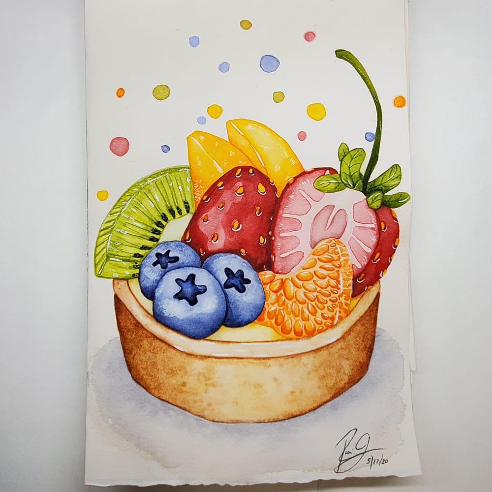 Rosi's Fruit Tart - image 1 - student project