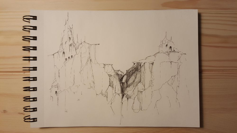Fineliner Drawing - image 4 - student project