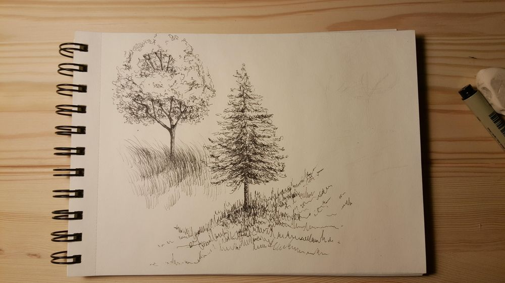 Fineliner Drawing - image 7 - student project