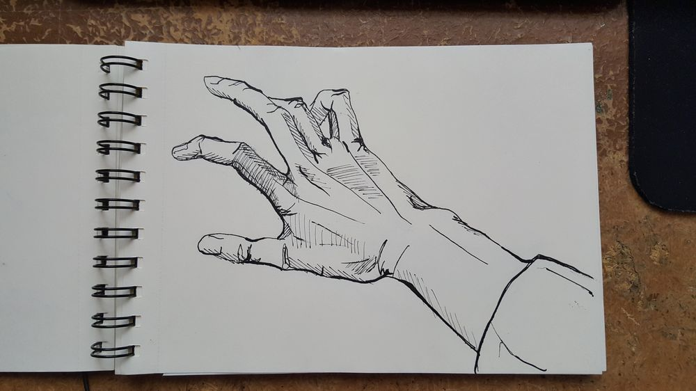 Ink hands - image 2 - student project