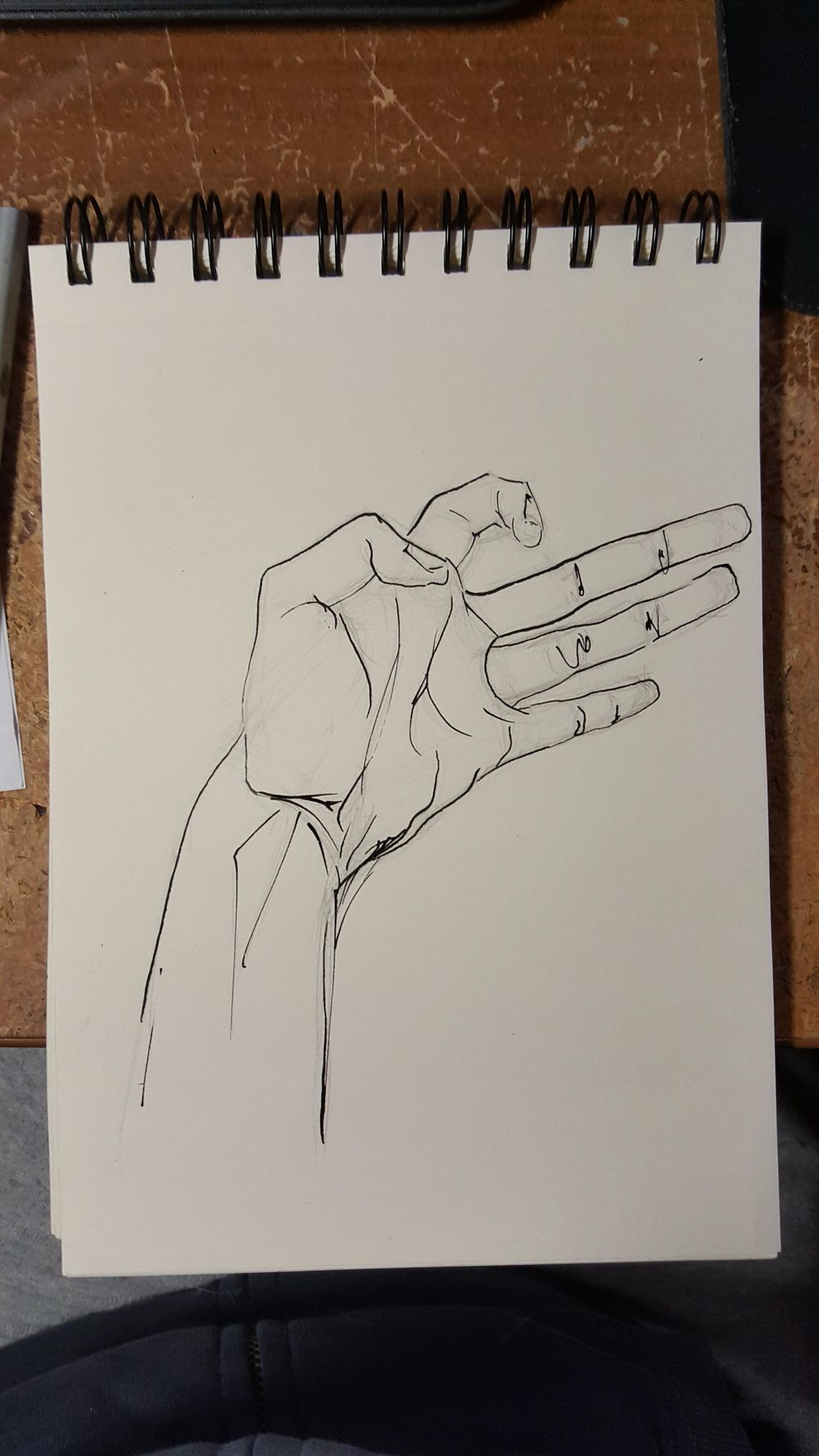Ink hands - image 3 - student project