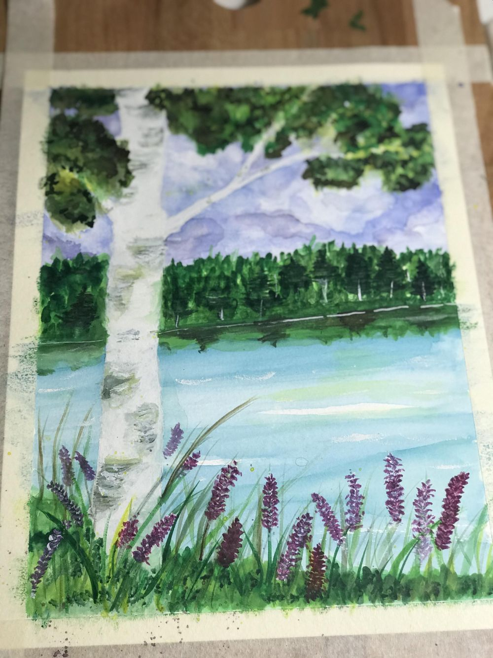 Birch tree - image 1 - student project