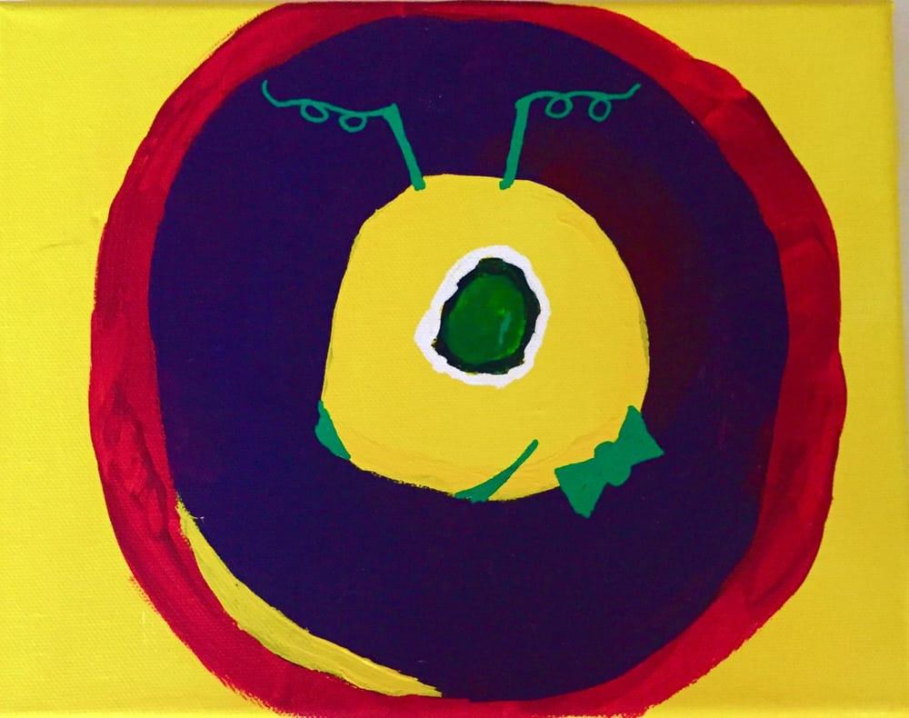Kandinsky Circle Meets Alien - image 2 - student project