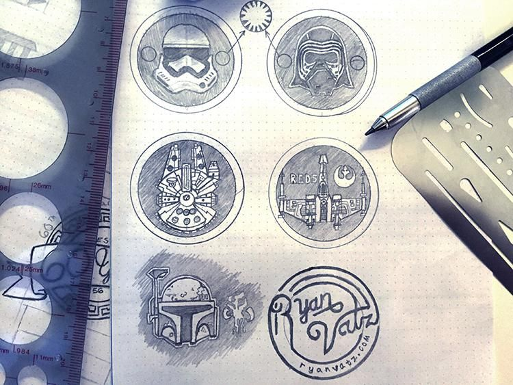 STAR WARS! and stuffs... - image 3 - student project