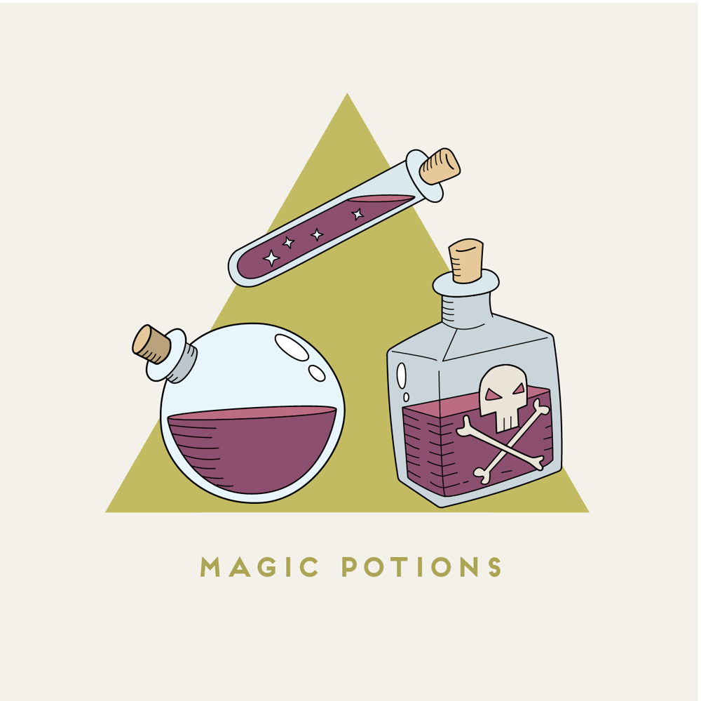 Magic Potions - image 1 - student project