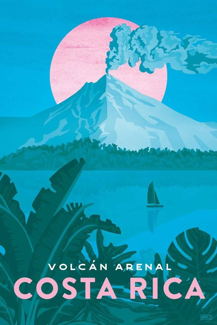 Missy Ames' Costa Rica Travel Poster - image 1 - student project