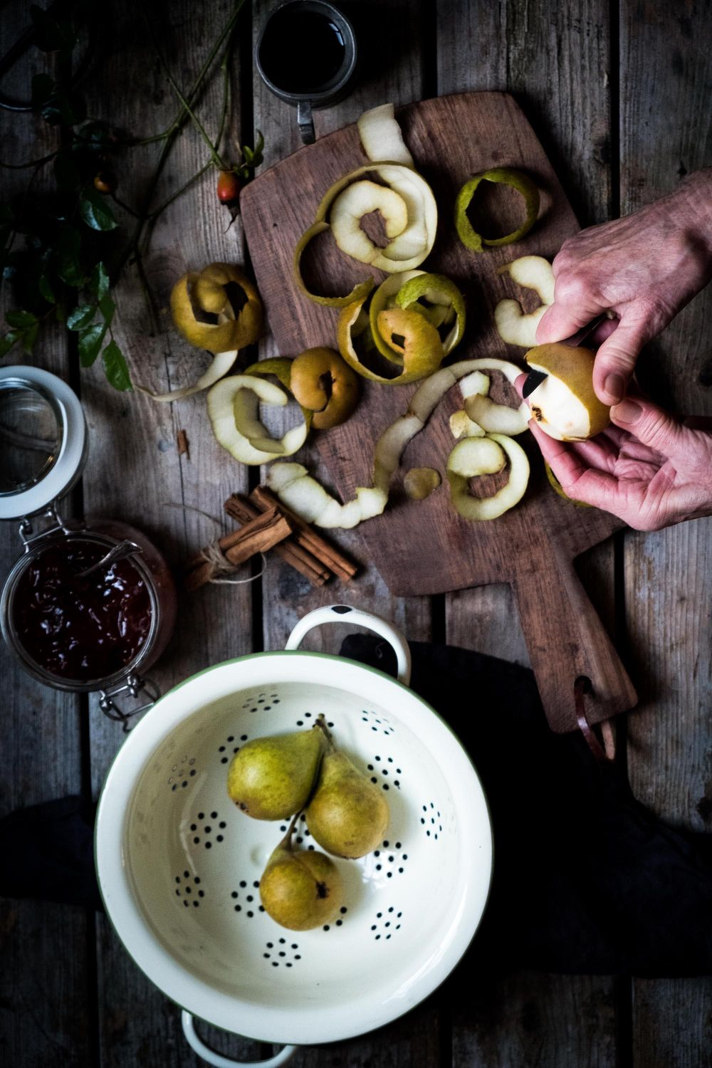 Mothers poached pears - image 2 - student project