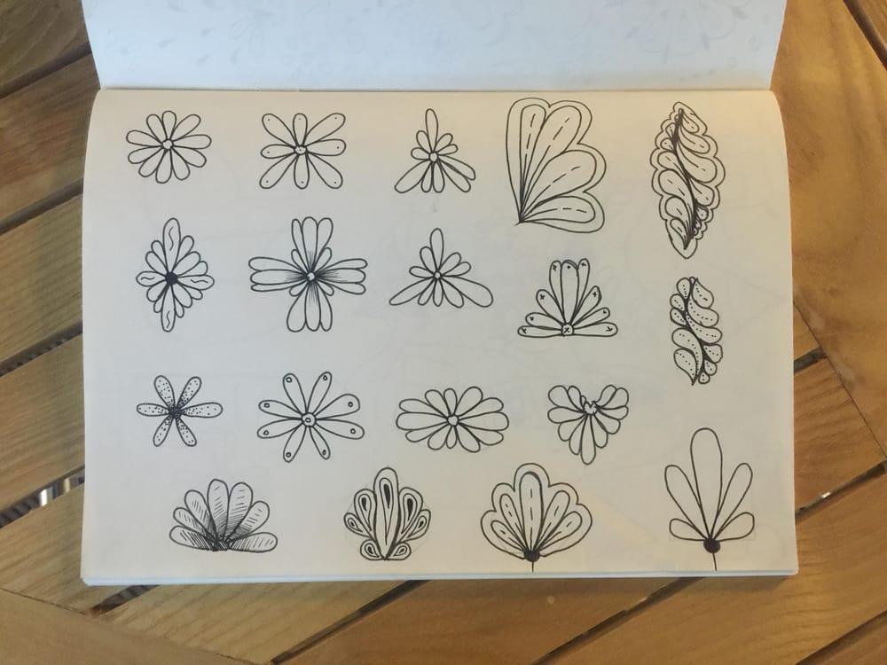 Shape Drawings and Mandala - image 2 - student project