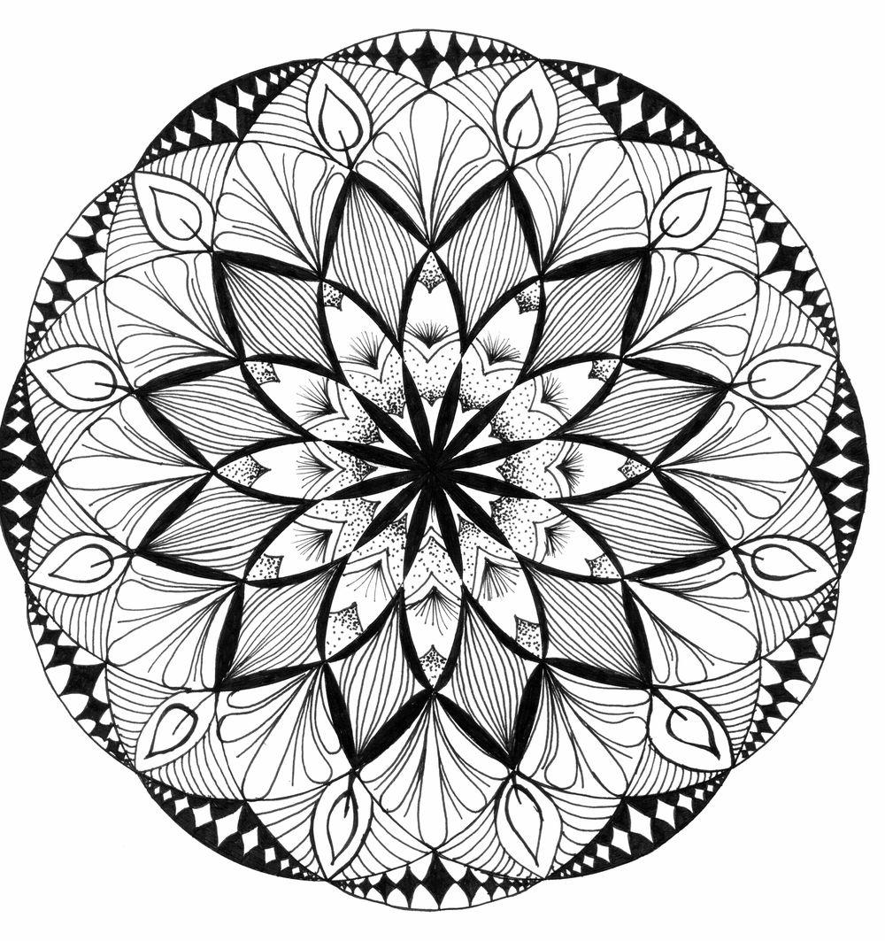 Shape Drawings and Mandala - image 4 - student project