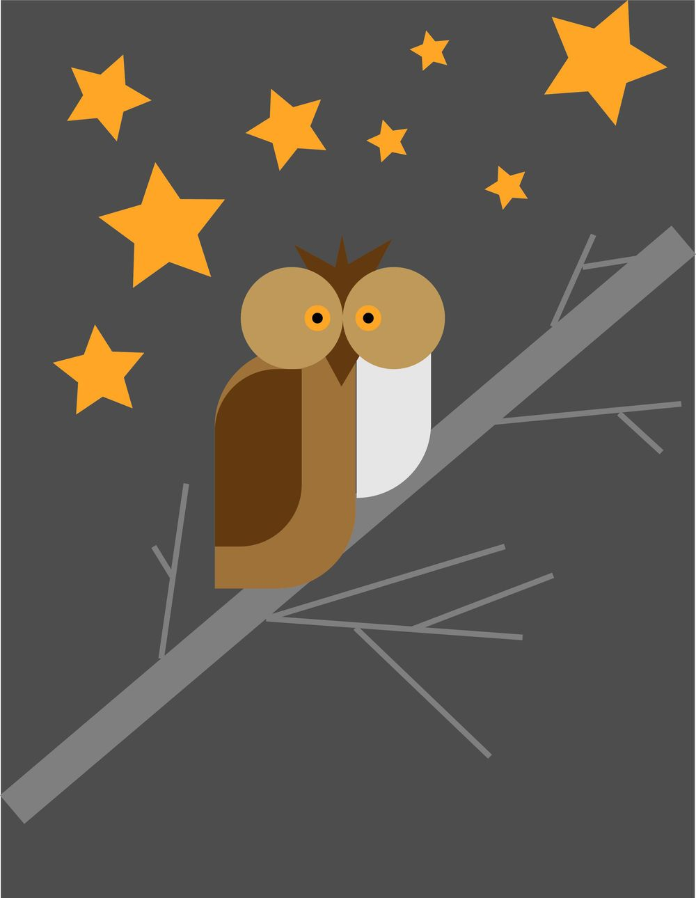 Not Sleeping Owl - image 1 - student project