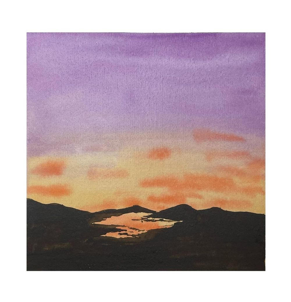 30 Day Watercolor Skies Challenge - image 3 - student project