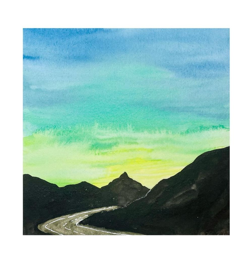 30 Day Watercolor Skies Challenge - image 1 - student project