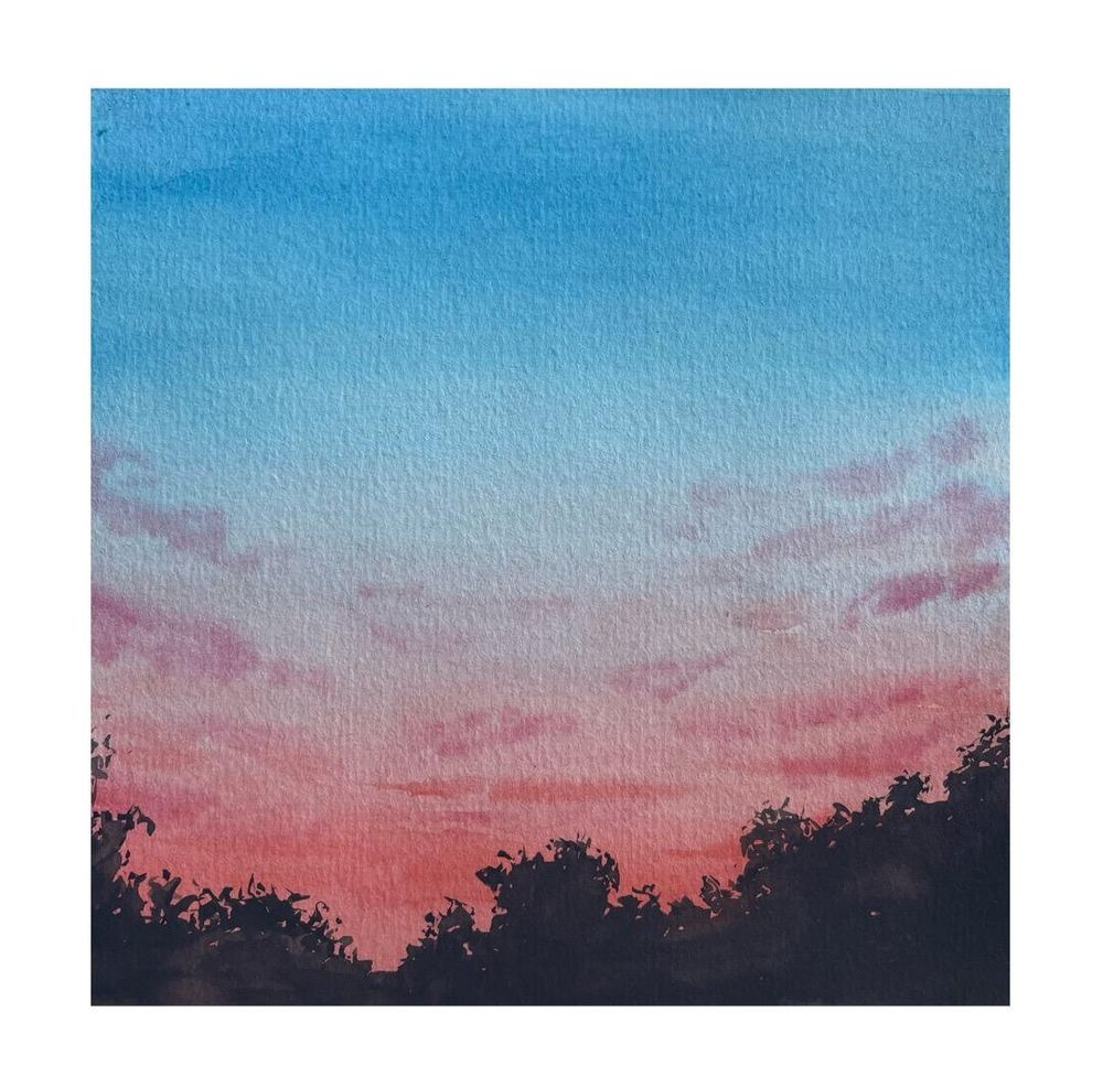 30 Day Watercolor Skies Challenge - image 9 - student project