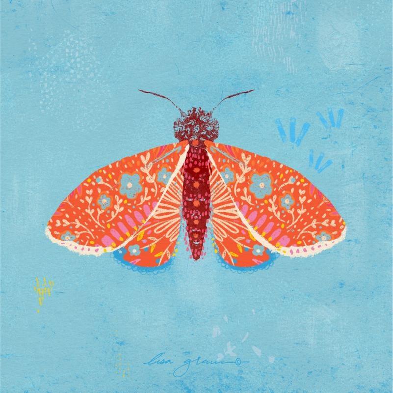 Moth & Mandala - image 2 - student project