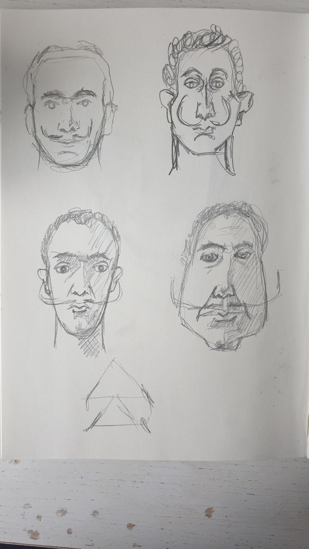 Dali caricature exercise - image 1 - student project
