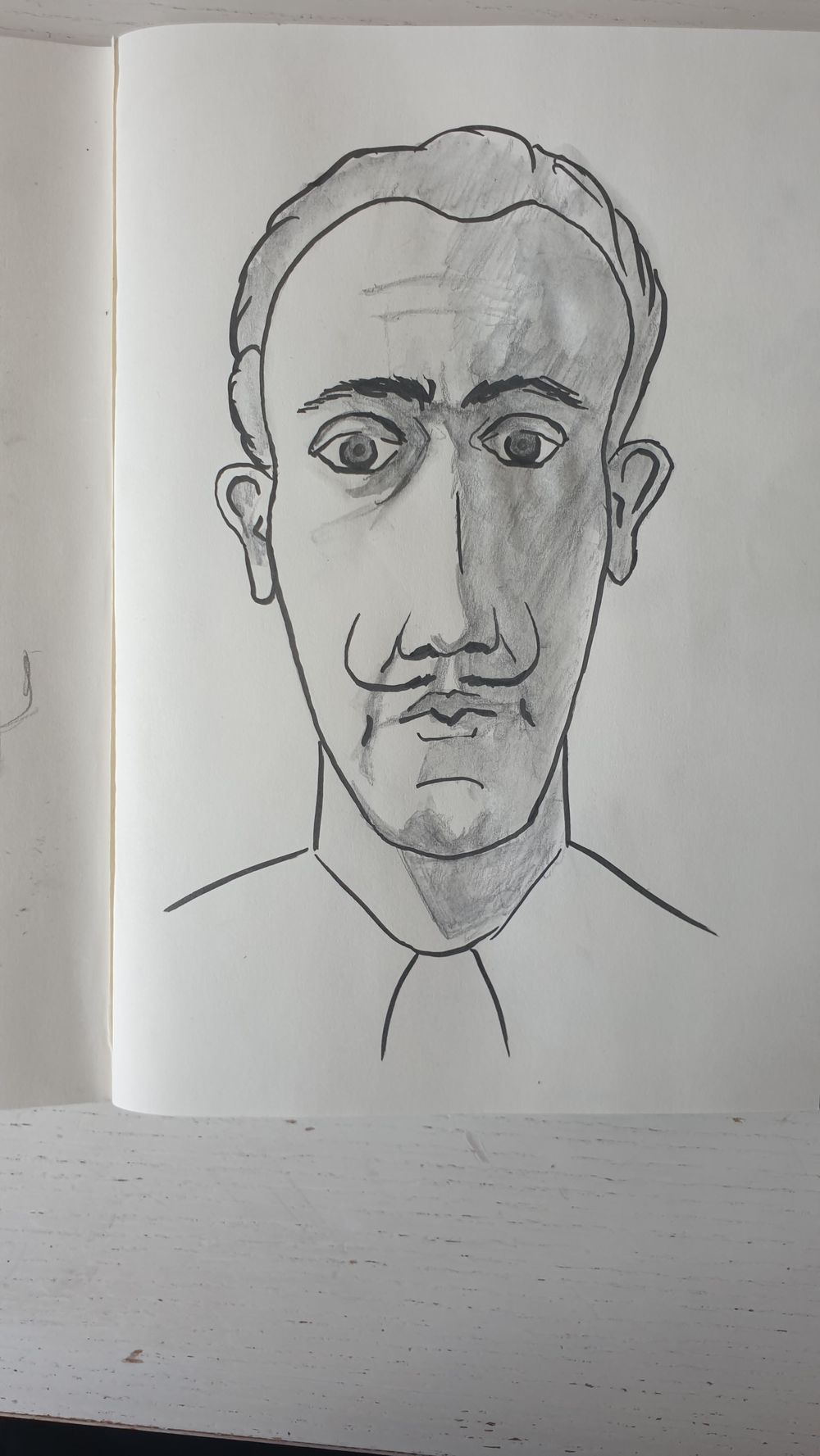 Dali caricature exercise - image 2 - student project