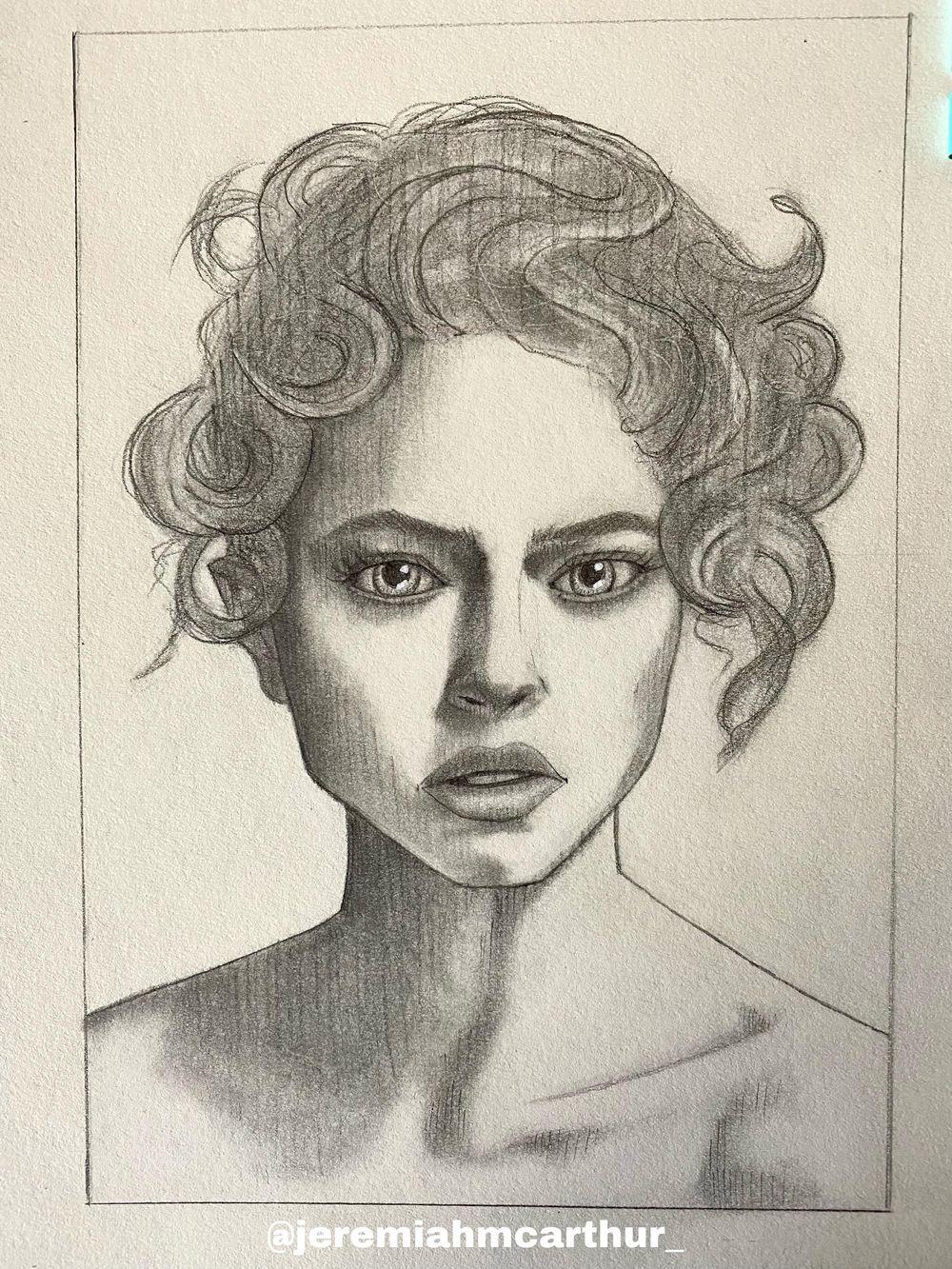 Stylized Portrait - image 2 - student project