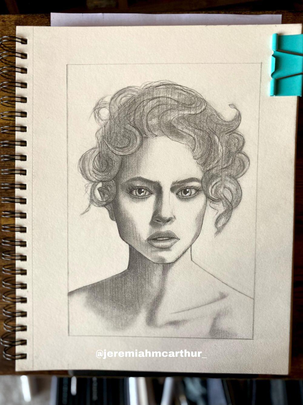 Stylized Portrait - image 3 - student project
