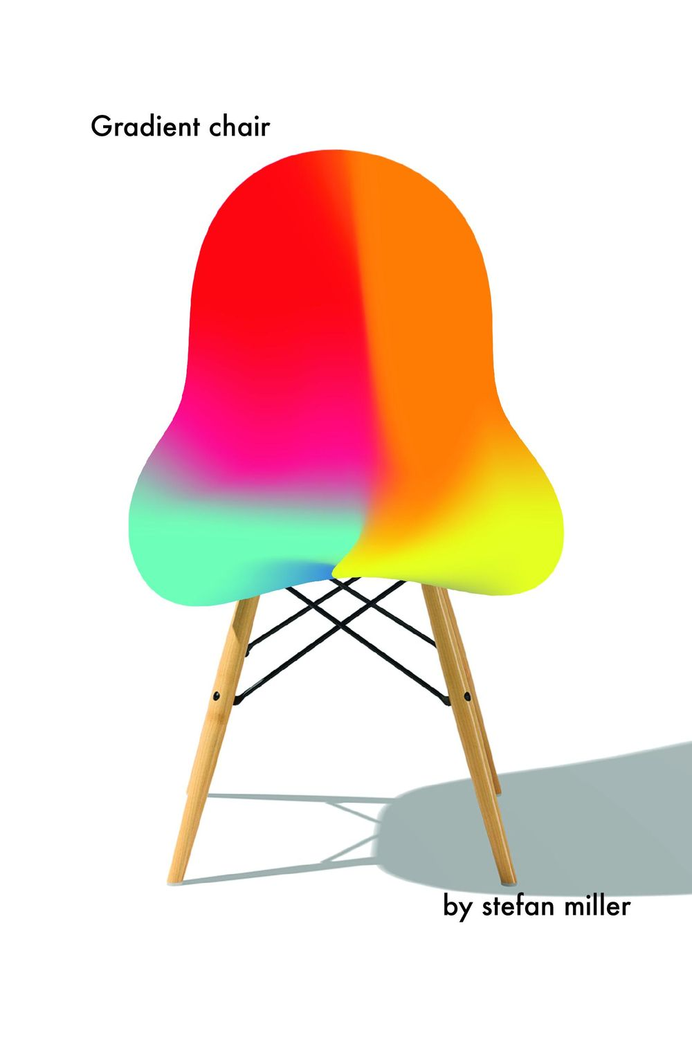 Gradient chair. - image 1 - student project