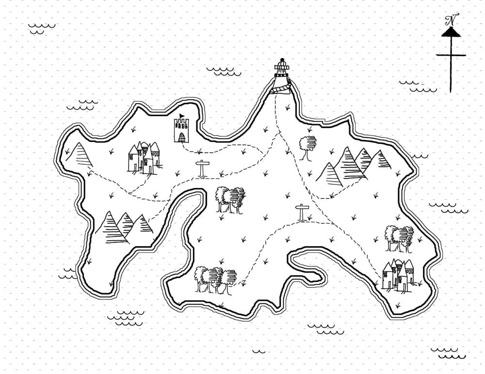 Fantasy Island - image 1 - student project