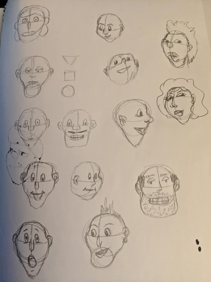 Cartooning Experiment - image 1 - student project