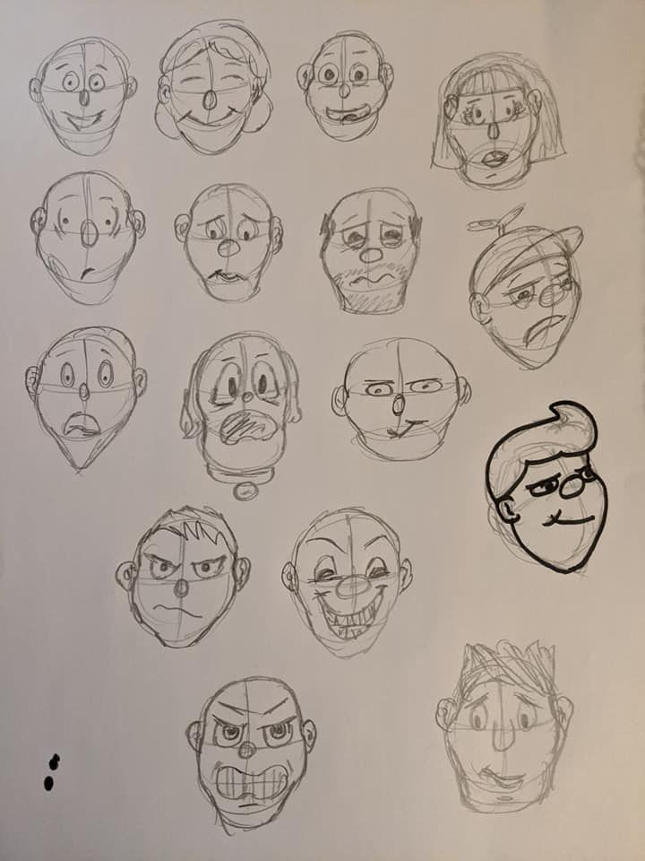Cartooning Experiment - image 2 - student project
