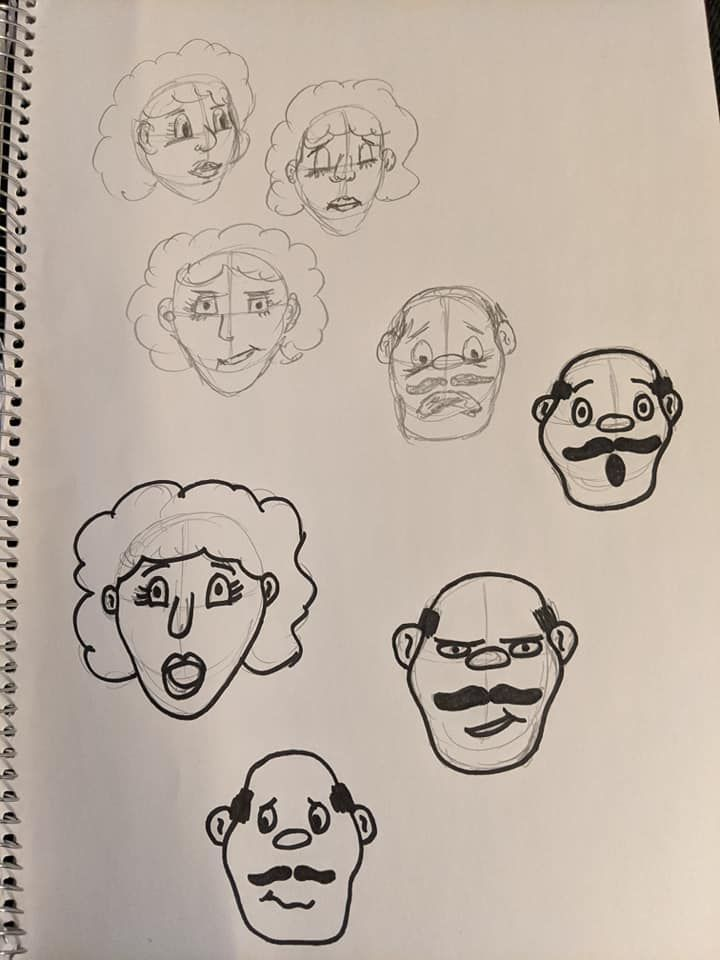 Cartooning Experiment - image 3 - student project