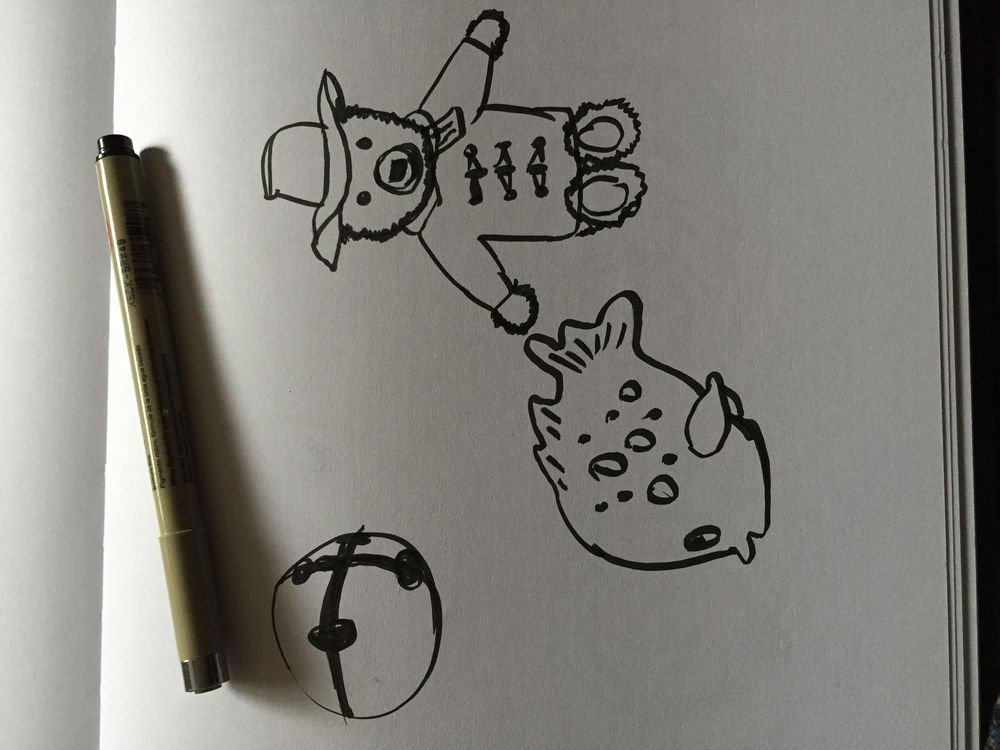 3 Minute Toy Drawing - image 1 - student project