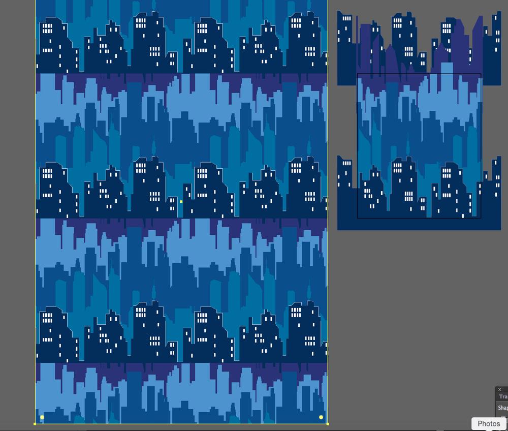 Wallpaper repeats - image 1 - student project