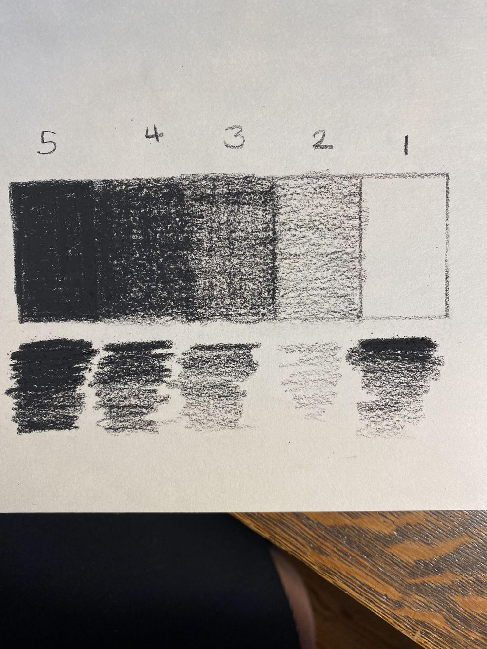 Value Scales and Gradation - image 1 - student project