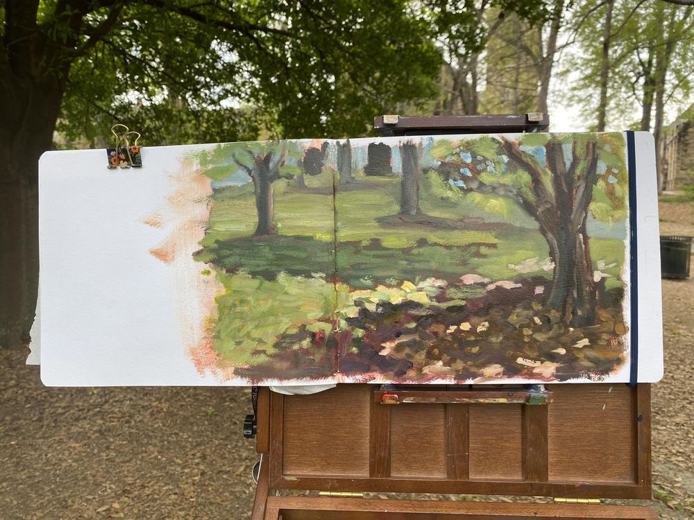 Atmospheric Perspective in the Park - image 1 - student project