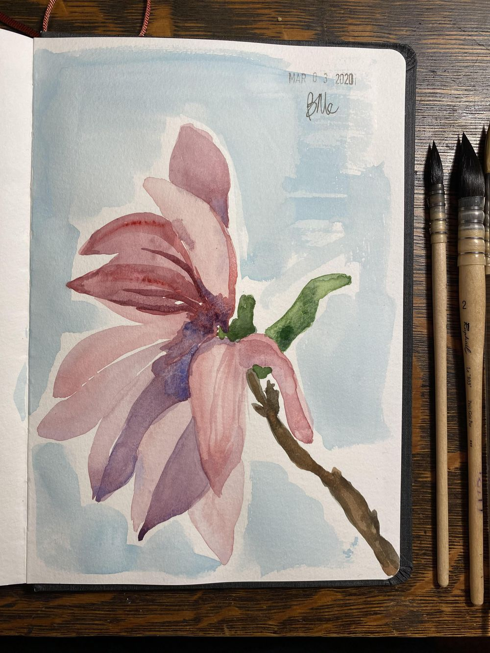 Plein Air Watercolor - image 3 - student project