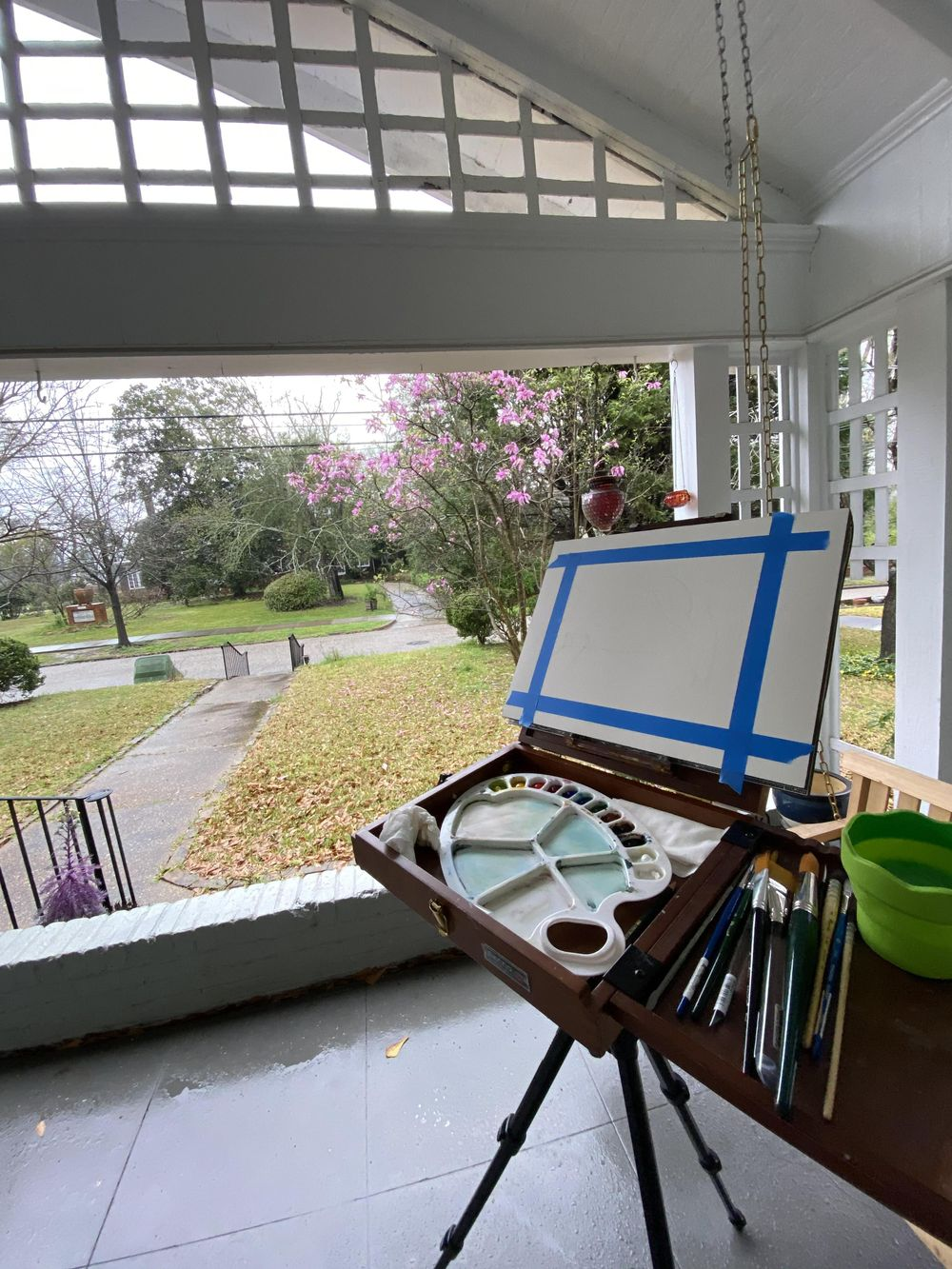 Plein Air Watercolor - image 1 - student project
