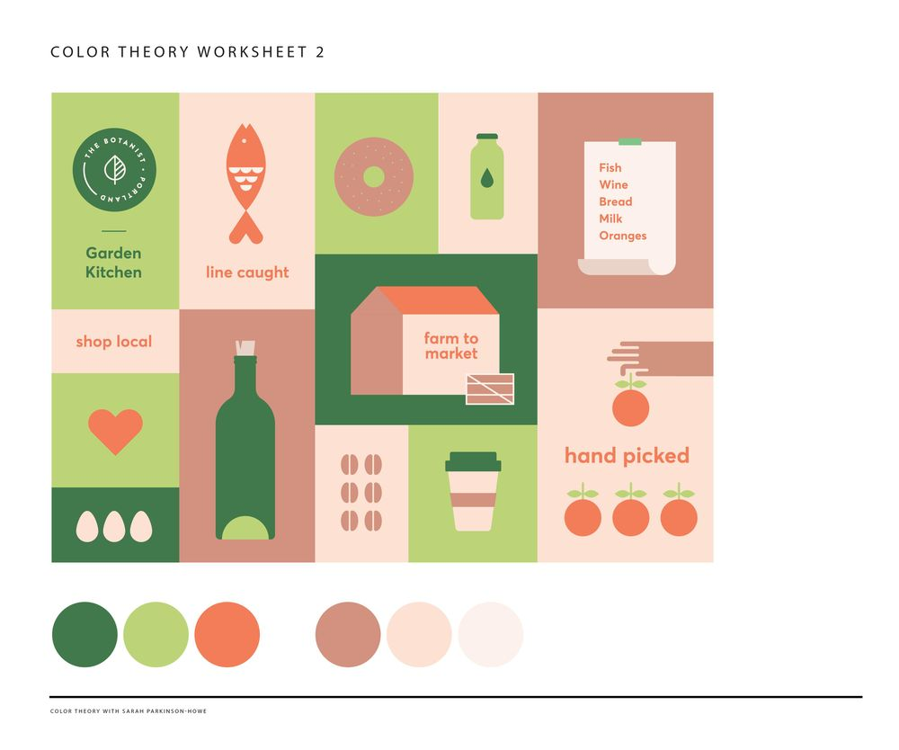 Color Theory exercice - image 1 - student project