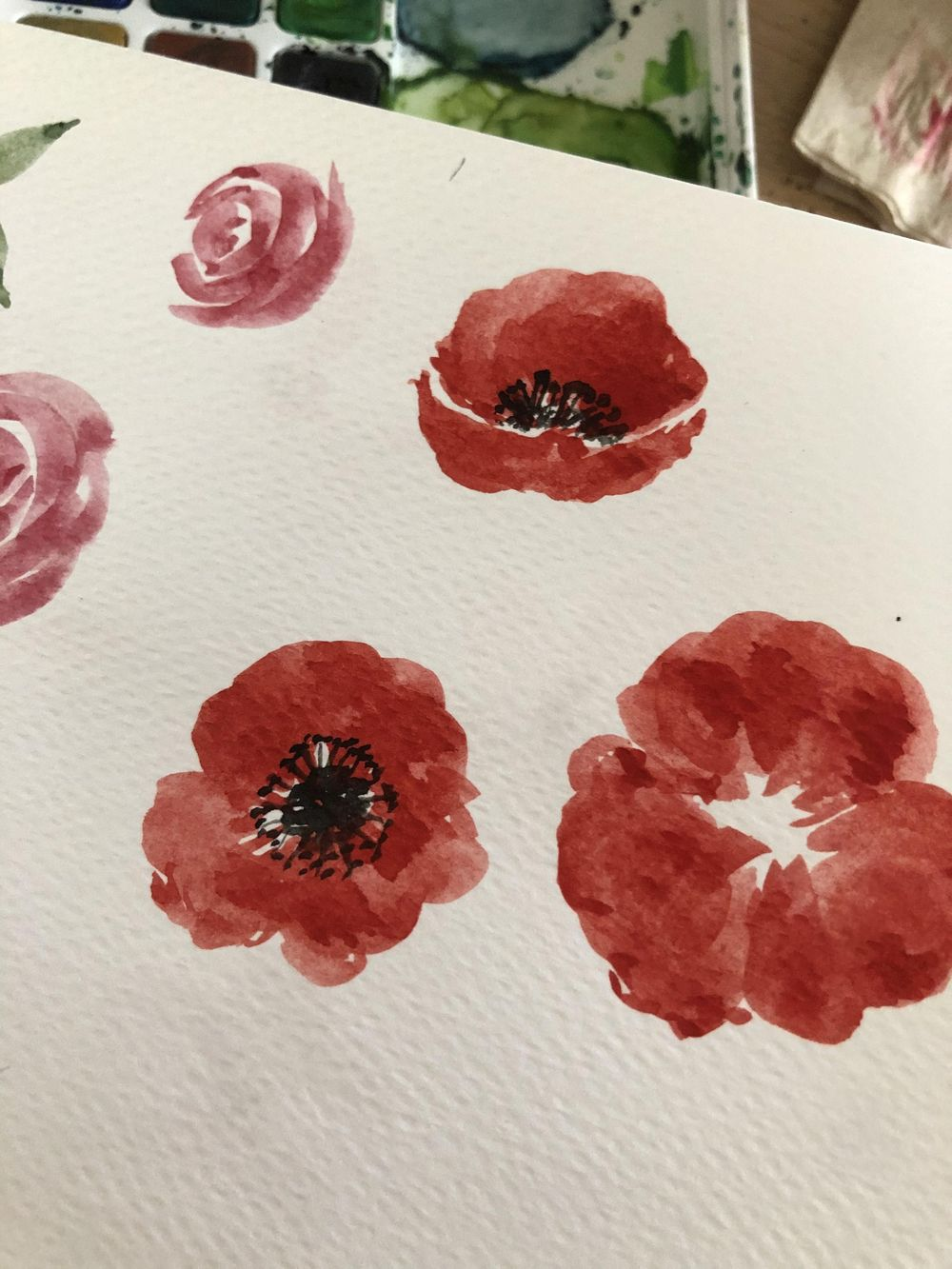 Floral Practice - image 1 - student project