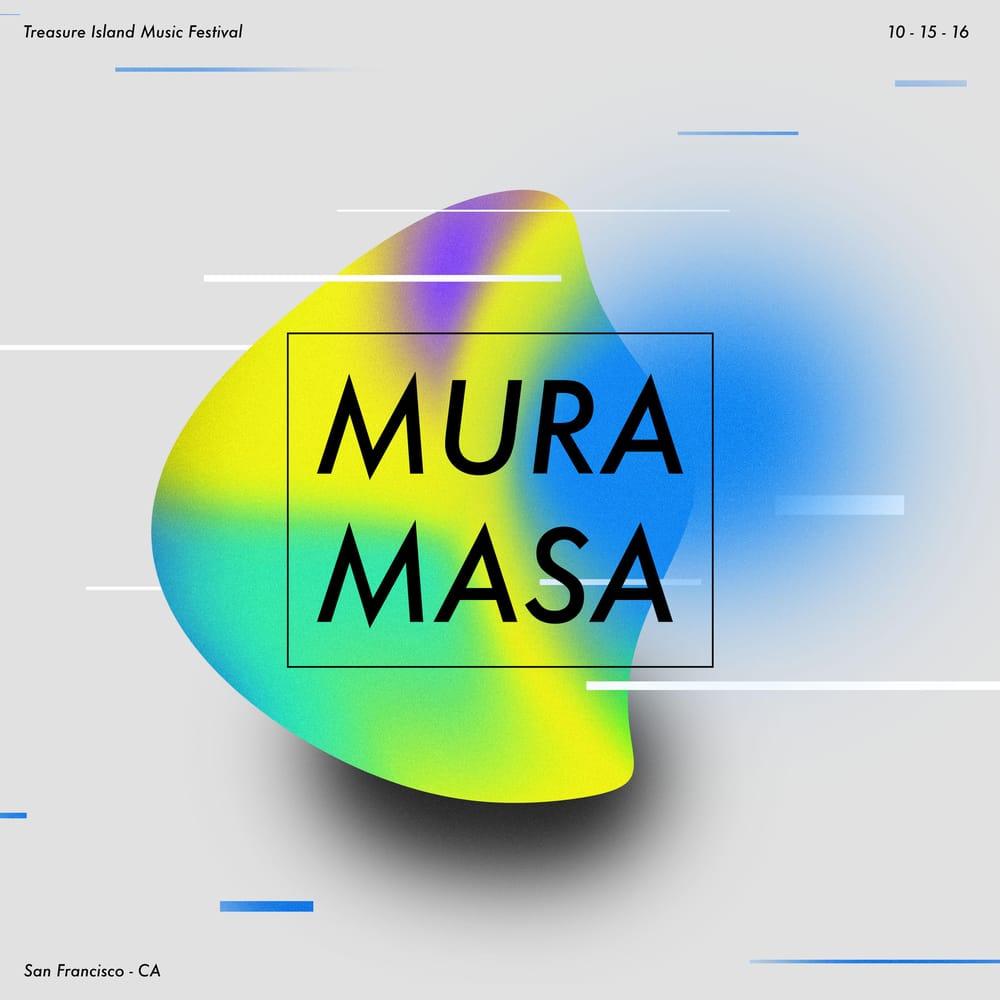 Mura Masa - Concert Flyer - image 1 - student project