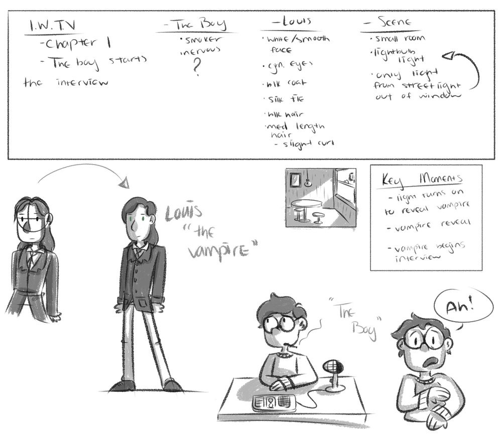 Interview With The Vampire - image 1 - student project