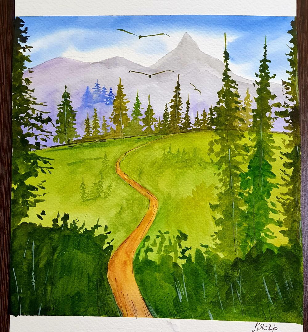 Green forests - image 1 - student project