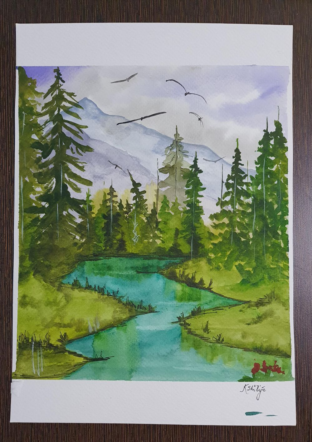 Green forests - image 3 - student project