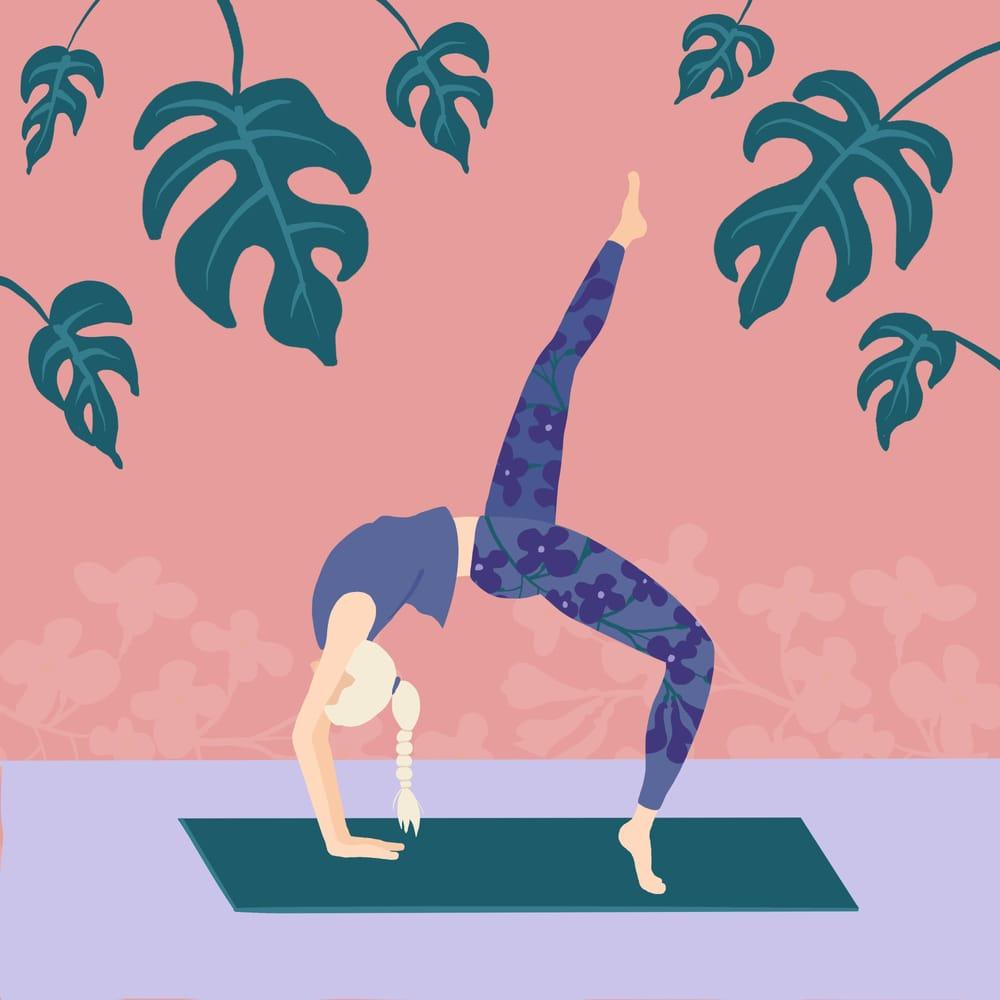 Yoga, Lilacs, Plants - image 1 - student project