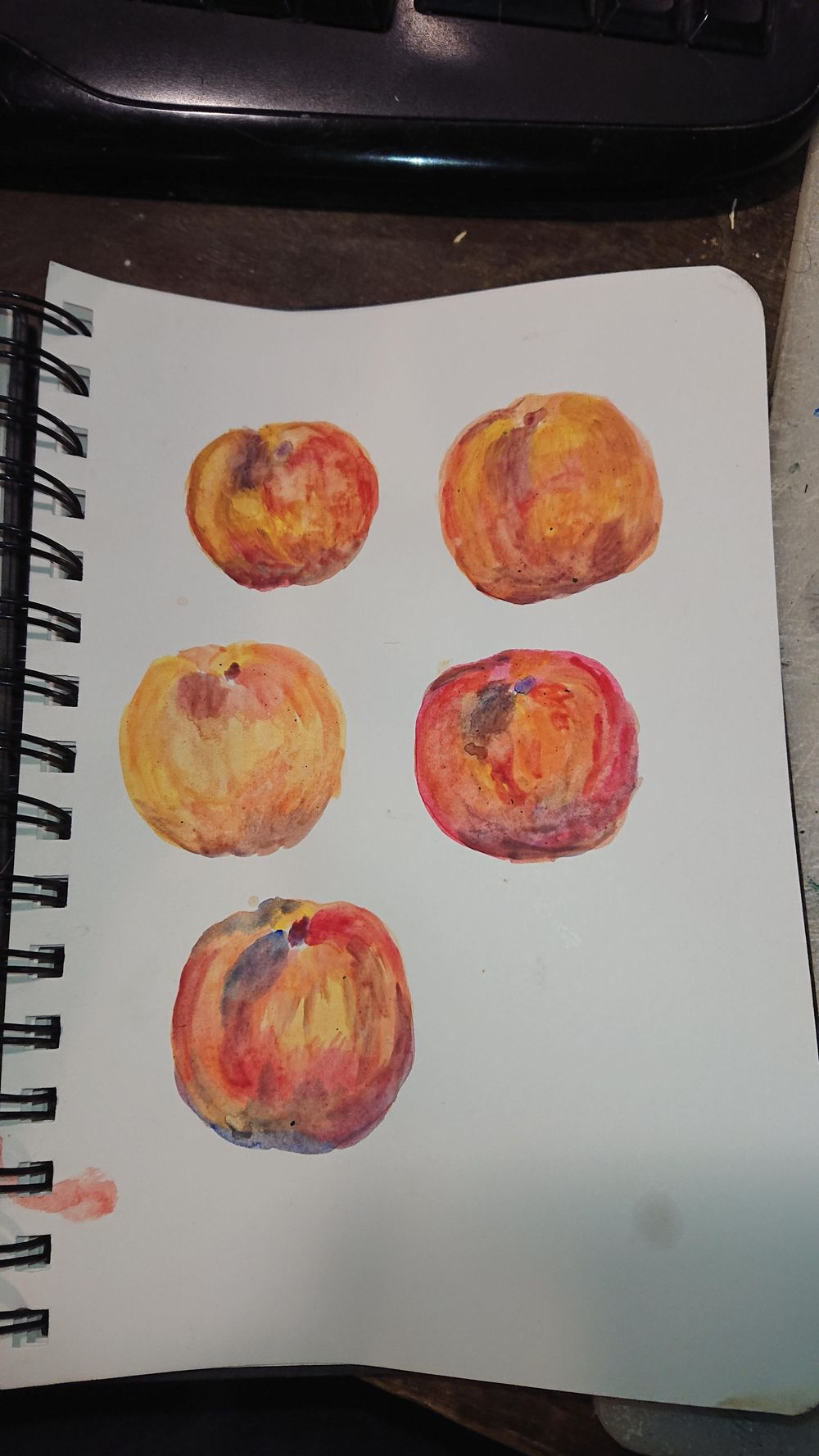 Trying out Gouache - image 1 - student project
