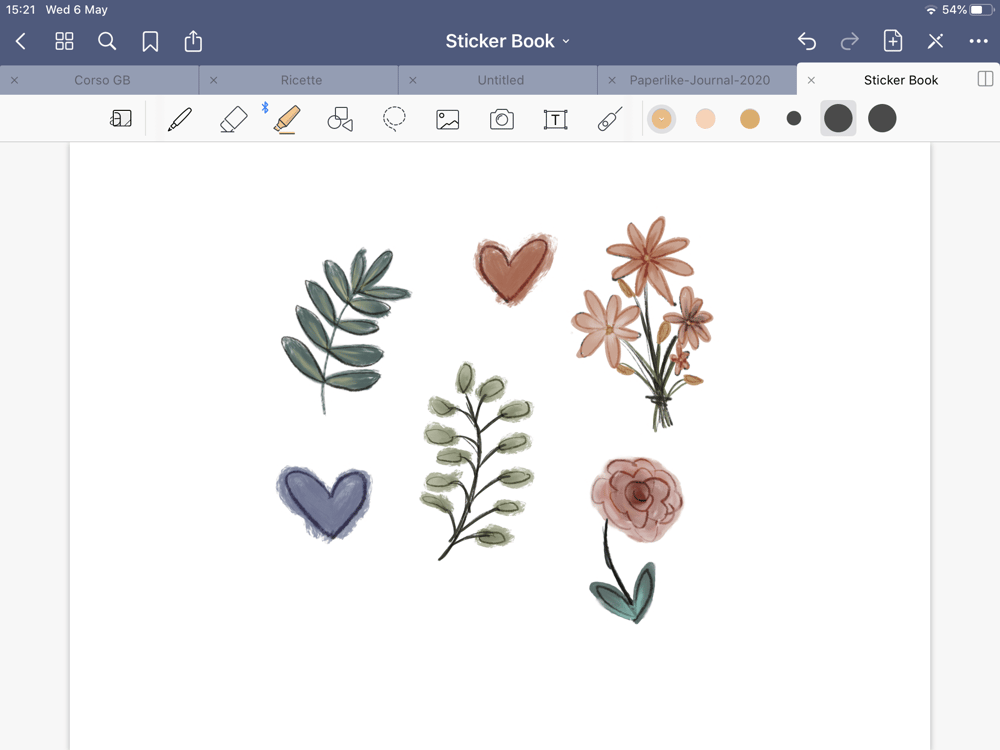 Quick Stickers for GoodNotes - image 1 - student project
