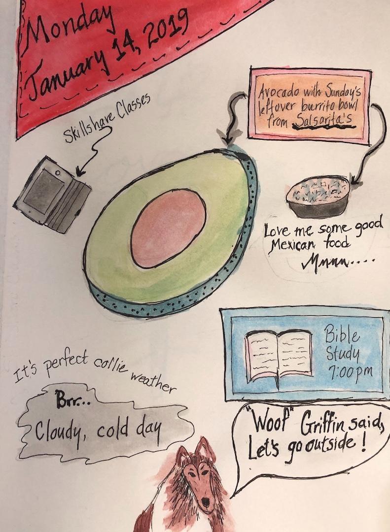 January Monday - image 1 - student project